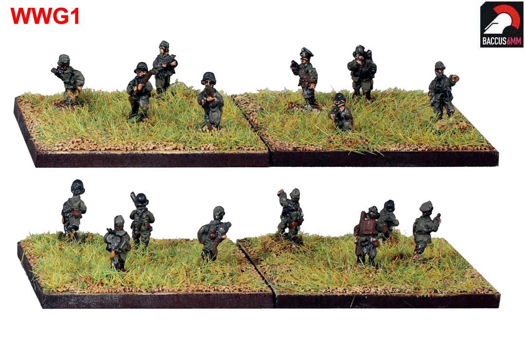 WWG01 - German infantry advancing