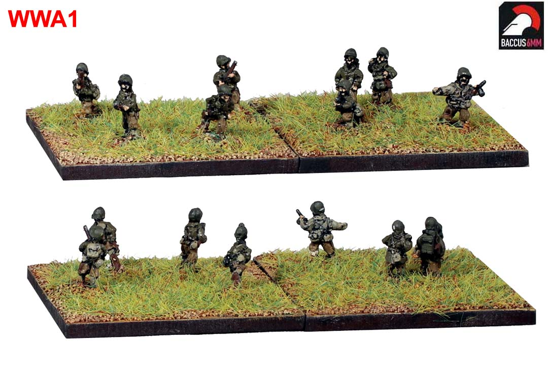 WWA01 - American infantry advancing