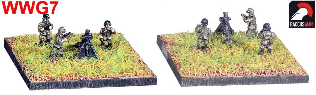 WWG07 - German 12cm mortar and crew