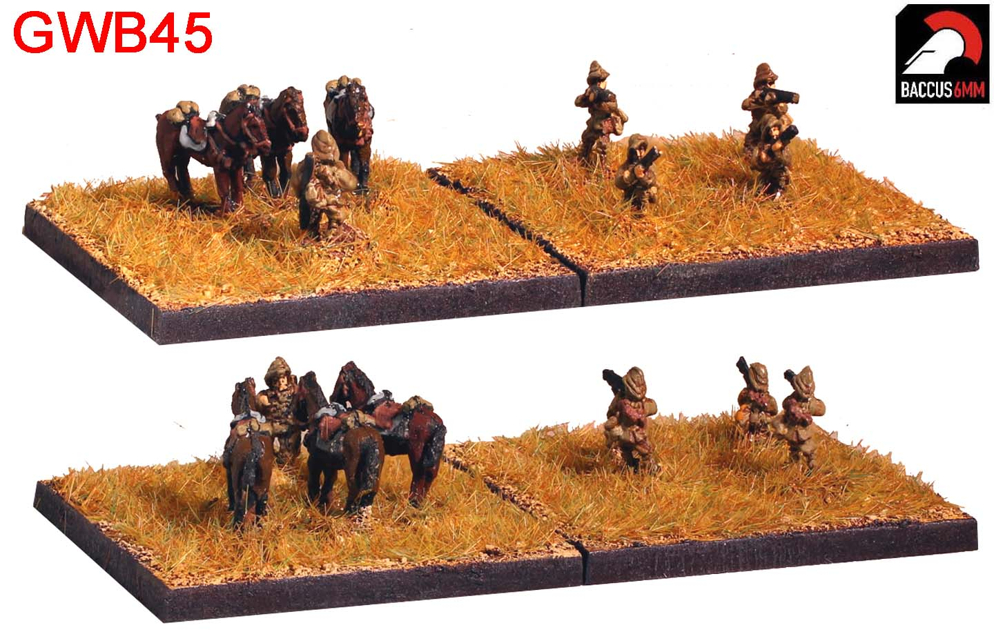 GWB45 - British Middle East cavalry dismounted