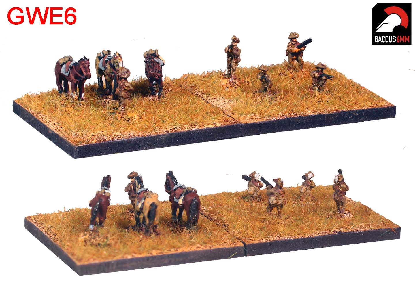 GWE06 - ANZAC cavalry dismounted